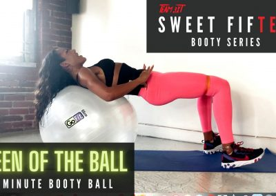 Booty Exercises with GoFit's Stability Ball: Sweet FifTEAM (2 of 3)