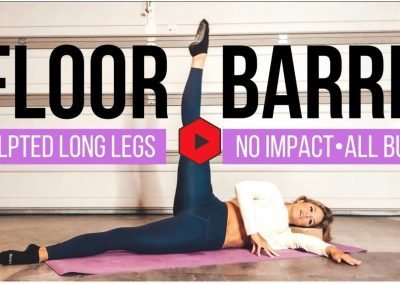 FLOOR BARRE Workout – No Impact, ALL BURN!