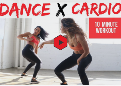 Total body and dance cardio workout that's only 10 minutes