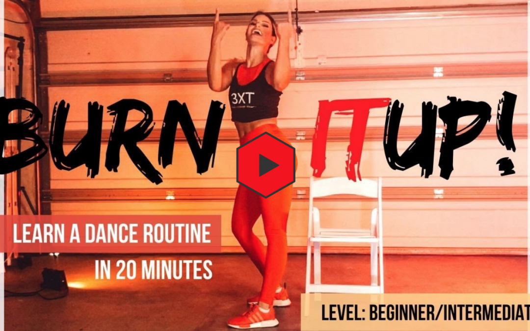 """Dance for beginners: """"Burn it up"""" Janet Jackson 20 min at home workout"""