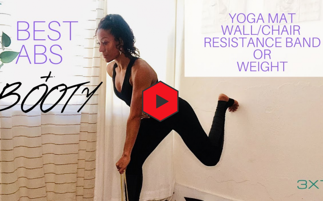 Best Abs and Booty Exercises: Home workout