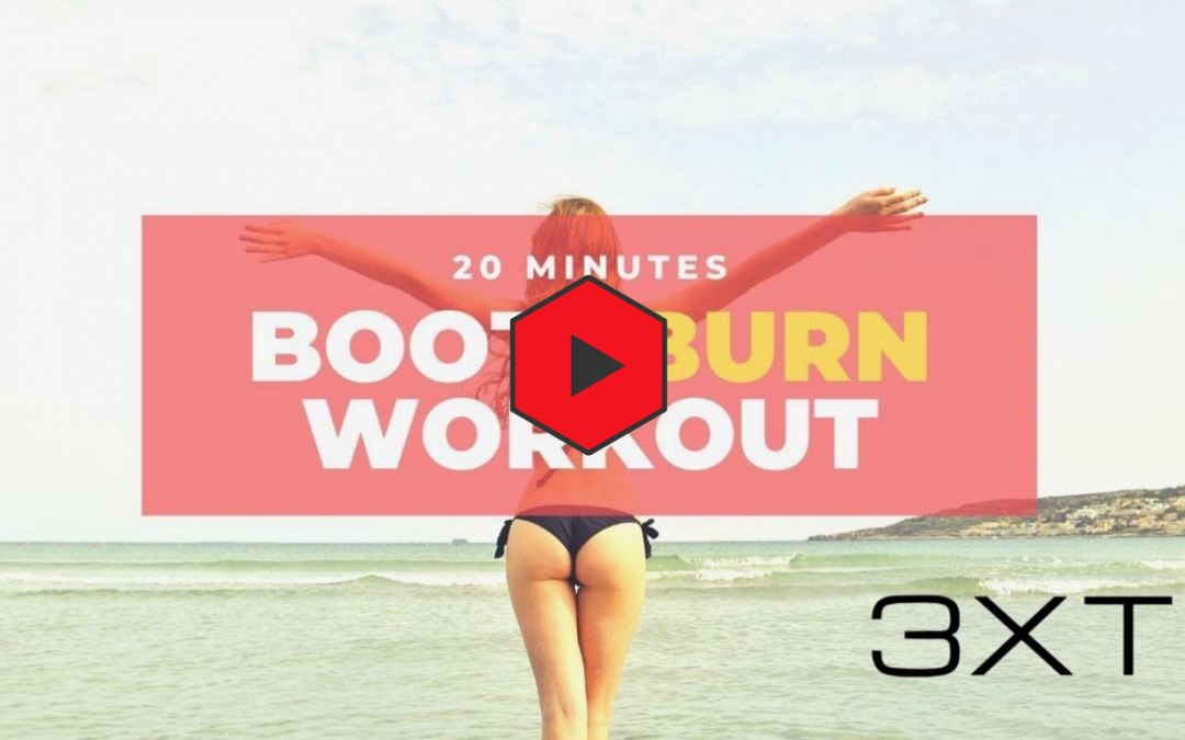 20 Min Booty at home workout| No equipment
